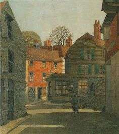 Hubbard, Eric, (1892-1957), Rye, East Sussex, Oil