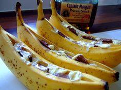 BBQ Bananen met chocolade en rum, een klassieker - BBQ NL