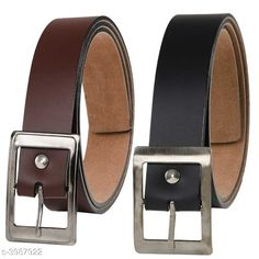 Belts  Artificial Leather Men's Belts (Pack Of 2) Material: Artificial Leather  Size: 28 in  30 in  32 in  34 in  36 in  38 in Description: It Has 2 Pieces Of Men's Belts Pattern: Solid Country of Origin: India Sizes Available: Free Size, 28, 30, 32, 34, 36, 38 *Proof of Safe Delivery! Click to know on Safety Standards of Delivery Partners- https://ltl.sh/y_nZrAV3  Catalog Rating: ★3.9 (5327)  Catalog Name: Free Gift Stylish Artificial Leather Men's Belts Vol 8 CatalogID_563237 C65-SC1222 Code: 641-3987922-