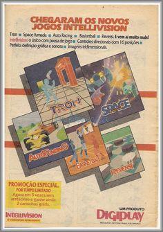 Jogos Intellivision #nostalgia
