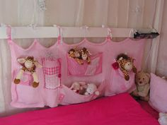 So many stuffed animals, no place to sleep. This is an easy to make and cute solution