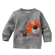 Jumping Beans Applique Fleece Sweatshirt - Baby