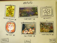 Play ART: Play, learn and create your masterpiece with elements taken from the original works of five important painters: Vincent Van Gogh, Paul Cézanne, Claude Monet, Henri Rousseau e Paul Klee.