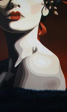 Digital vector art illustration of a woman // One of Michelle's favorite artists Duma Bawa - sophisticated, creative, fashion forward. Art And Illustration, Illustrations, Art Pop, Figure Painting, Painting & Drawing, Posca Art, Art Graphique, Portrait Art, Love Art
