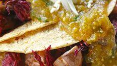 Enchiladas de jamaica y hongos- Chef Oropeza