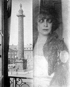 Luisa Casati photographed by Man Ray