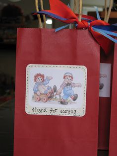 Making Merry Memories: Raggedy Ann Party
