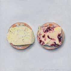 Wensleydale cheeses - Joel Penkman- At first, I thought this was a real photo!