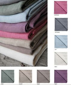 Blanket ECO FRIENDLY  French country twill linens fall