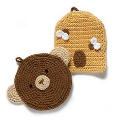 They're the Bee's Knees! 10 Free Bee #Crochet Patterns, roundup from mooglyblog.com