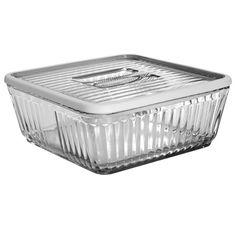 Anchor Hocking Bake 'N' Store w/ Silicone Rim, 12 Cup - Prep & Storage