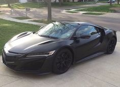 Murdered out #Acura #nsx  This car looks amazing!!!  @beuck.photography