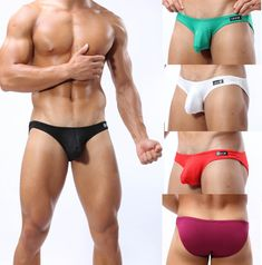 61625ecc60  14.99 - 5Pcs Lot Men Eyelet Mesh U-Brief Underwear Male Hipster Panties  Briefs