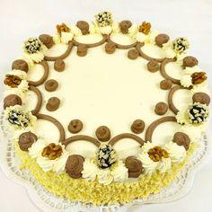 klasický dort, čokoládovo - ořechový, čeká na Vaše jméno nebo číslo  Kuncovi, Brno - Maloměřice, Hádecká 8 Birthday Cake, Desserts, Food, Tailgate Desserts, Deserts, Birthday Cakes, Essen, Postres, Meals