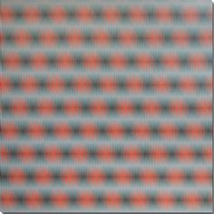 William Betts -Moire Series - M-0022, 2006, Acrylic on composite, 45 x 45 inches