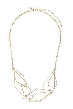 Link Shape Necklace