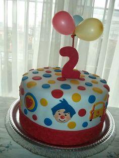 Happy Birthday, Birthday Cake, Cata, Desserts, Kids, Cakes, Clown Cake, Cake Birthday, Pastries
