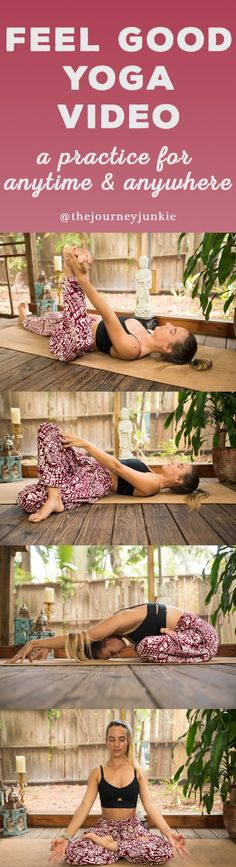 20 Minute Yoga Flow: Stretch Anytime & Anywhere - Pin now, FEEL GOOD now!