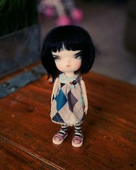 """""""Arygle"""" (Runs for Coffee) Tags: winter person dress sewing 4 universe limited secretdoll"""