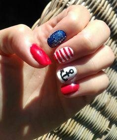 Must have summer nail art.