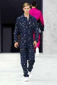From the romper, to the jumpsuit, and the flight suits that recently debuted on the couture runways—the one piece has become a standard of effortless dressing. We'd certainly take this embellished one from the Louis Vuitton show, for a night out on the town. Imaxtree  - HarpersBAZAAR.com
