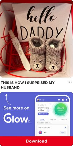 This is how I surprised my husband Baby Surprise Announcement, Creative Pregnancy Announcement, Pregnancy Announcement To Husband, Surprise Pregnancy, Pregnancy Announcements, Husband Pregnancy Reveal, Rainbow Baby, Top Rated, Symptoms Pregnancy