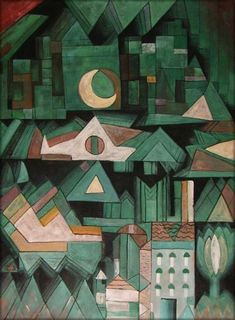 Paul Klee - Dream City (1921) collezione privata