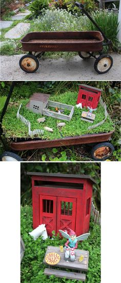 Jardin miniature cr dans un pot en terre cuite 21 for Cree un jardin
