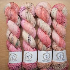 New color for our up coming update. Romance on Merino Singles. I thought we needed a new pink. Photo Instagram, Instagram Posts, Yarn For Sale, Art And Craft Design, Yarn Stash, Hand Dyed Yarn, Food Coloring, Knitting Yarn, Color Inspiration