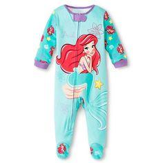 Disney The Little Mermaid Newborn Girls' Ariel Bodysuit