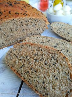 Ingredients: - 3 cups of flour - 1 cup warmer one click hot water . Bread Recipes, Snack Recipes, Snacks, Good Food, Yummy Food, Muffins, Iftar, Turkish Recipes, Banana Bread
