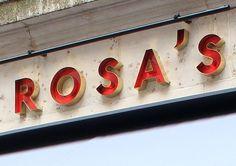 Rosa's Thai Cafe branding
