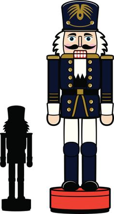 Image result for nutcracker clipart black and white