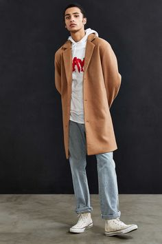 UO Elias Top Coat - Urban Outfitters