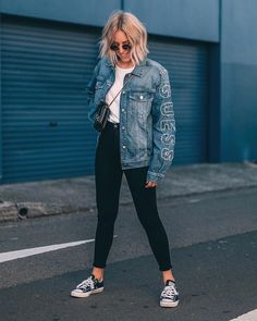 Stunning 45 Casual Spring Outfits Ideas To Wear With Converse 2019 45 Casual Spring Outfits Ideas To Wear With Conver Spring Outfits Women, Trendy Outfits, Fall Outfits, Summer Outfits, Cute Outfits, Fashion Outfits, Basic Outfits, Hipster Outfits For Women, Rue 21 Outfits