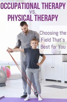 Here's How Occupational Therapy and Physical Therapy Differ Physical Therapy Assistant Salary, Occupational Therapy Humor, Physical Therapy Education, Physical Therapist, Ocupational Therapy, Sensory Therapy, Pta School, Chiropractic Clinic, Never Too Late