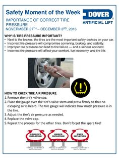 Correct Tire Pressure Is Important! Alberta Oil Tool's Moment of the Week