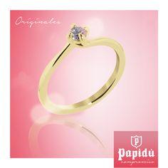 ¿Sabías qué? El diamante, representa la perfección, la voluntad de triunfo, la firmeza y la rectitud. #JoyeriaPapidu