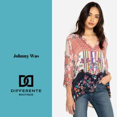 Be inspired. Be unique. Johnny Was, Bohemian, Velvet, Boutique, Inspired, Luxury, Womens Fashion, Inspiration, Tops