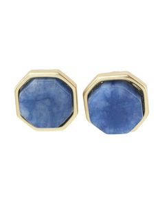 Leah Octagon Shaped Studs