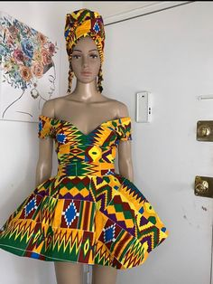 Short African Dresses, Latest African Fashion Dresses, African Inspired Fashion, African Print Fashion, Africa Fashion, Ankara Fashion, African Prints, African Fabric, Ankara Fabric