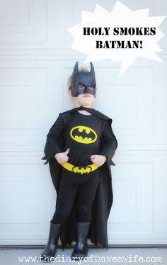 DIY Batman & Batmobile | The Diary Of DavesWife