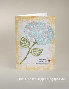 Stampin' Up! Thoughtful Branches (Wald der Worte) Hydrangea Hortensie