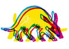 lino cmyk aardvark