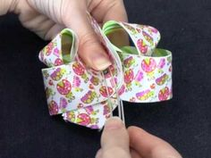 How to Make a Twisted Boutique Hair Bow hairbow, twist boutiqu, hair bows, boutiqu hair, bow tutori