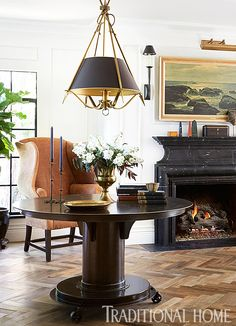 Tudor-Style Home with a Modern Makeover | Traditional Home