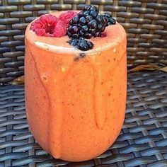 Mango Raspberry Weight Loss Smoothie 1