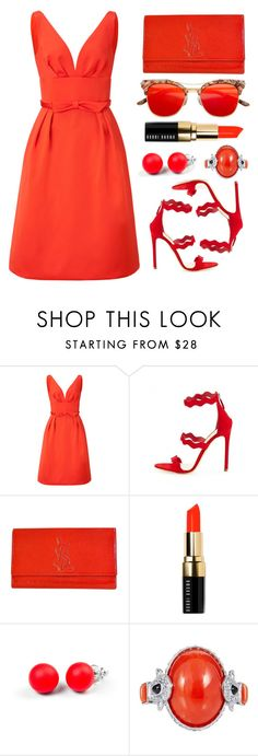 """Fsjshoes"" by simona-altobelli ❤ liked on Polyvore featuring ESCADA, Yves Saint Laurent, Bobbi Brown Cosmetics, Hring eftir hring and fsjshoes"