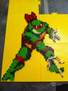 TMNT Raphael perler beads - BloodyPerlerBeads | Photobucket
