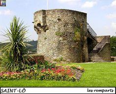 Saint-Lô : les remparts